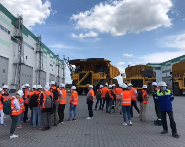 Press tour on the occasion of the 50th anniversary of Poltava Mining