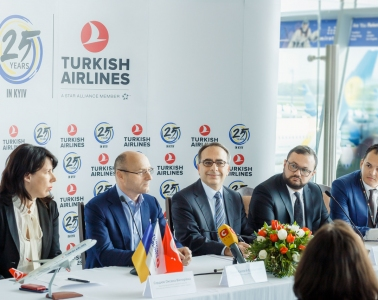 25th Anniversary of Turkish Airlines' Flights