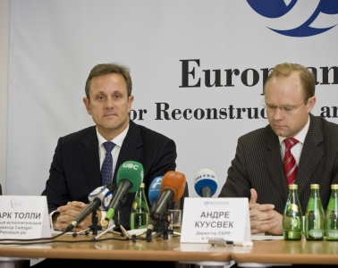 Press-conference for Cadogan Petroleum plc and EBRD